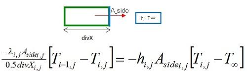 有限体積法,熱伝達境界条件